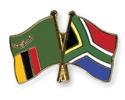 Zambian and South African flags